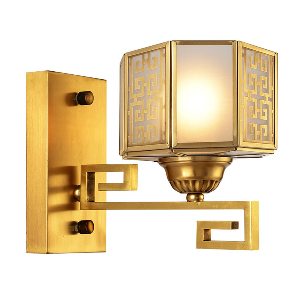 EME LIGHTING Brass Wall Light (EAB-14002-1) Wall Sconces image169