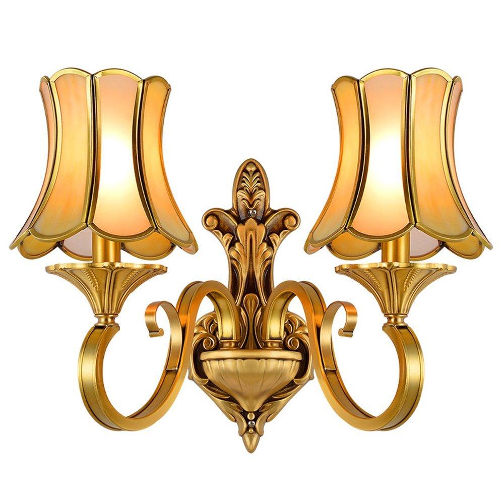 Glass Shade Wall Light (EAB-14009-2)