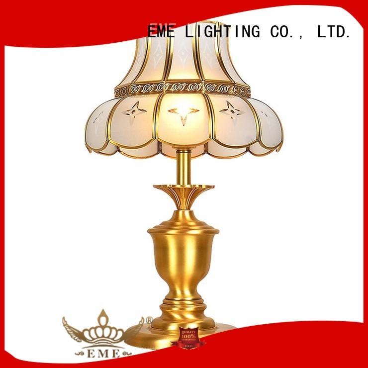 elegant copper european western table lamps EME LIGHTING Brand company