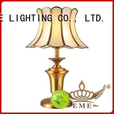 chrome and glass table lamps european novelty western table lamps EME LIGHTING Brand