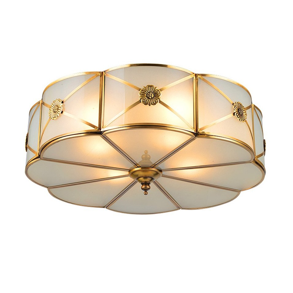 Brass Ceiling Lamp (EOX-M14101-350)