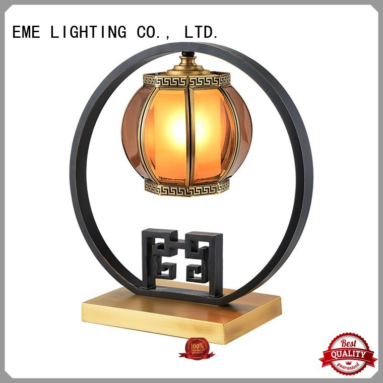 Wholesale gold chinese style table lamp black EME LIGHTING Brand