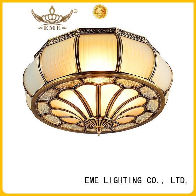 circle home lamp brass ceiling lights EME LIGHTING Brand
