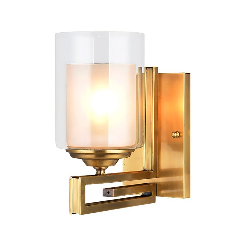 Cylinder Copper Wall Sconce (EYB-14215-1)