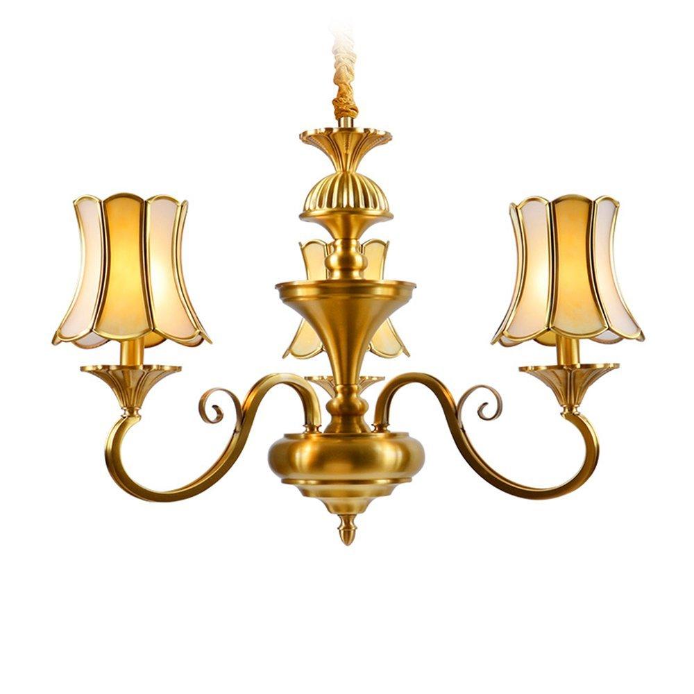 EME LIGHTING Modern Chandelier (EAD-14009-3) Brass Chandelier image115