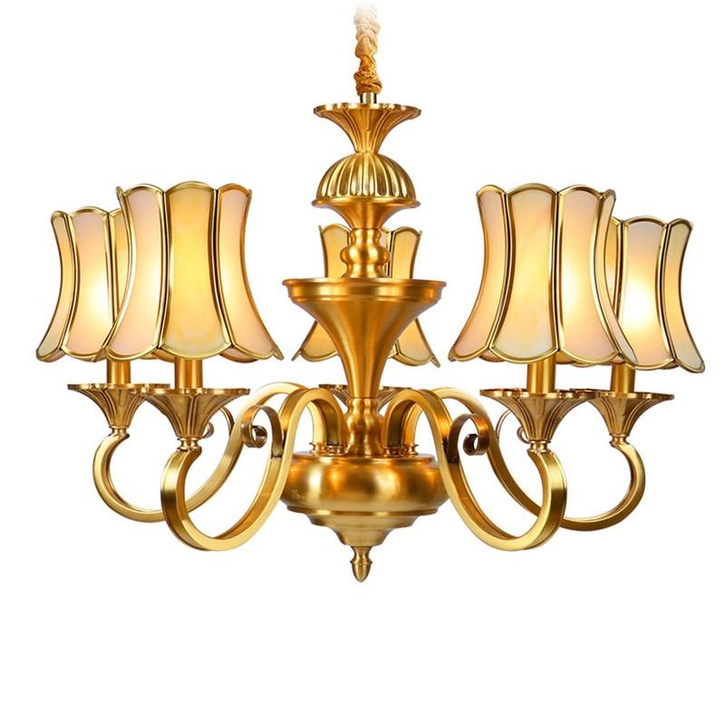 Brass Chandelier (EAD-14009-5)