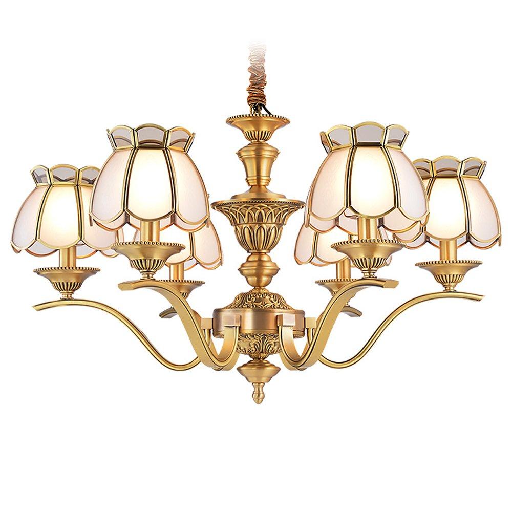 EME LIGHTING Antique Chandelier (EAD-14011-6) Brass Chandelier image102