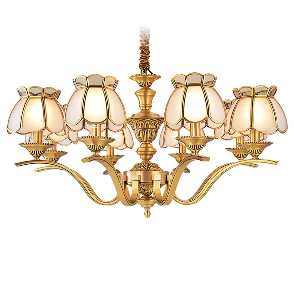 EME LIGHTING Copper Chandelier (EAD-14011-8) Brass Chandelier image101