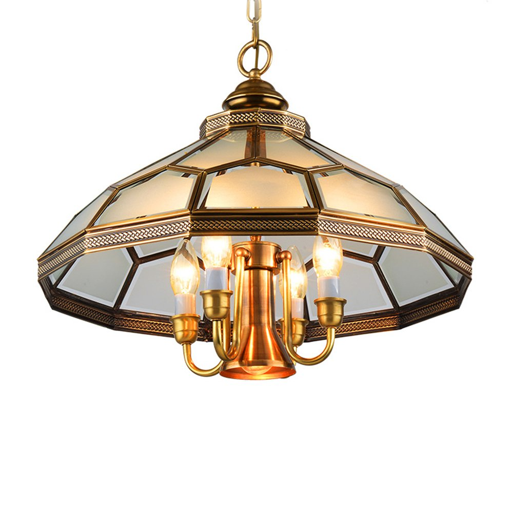 EME LIGHTING Decorative Pendant Light (EOD-14105-530) Brass Chandelier image92
