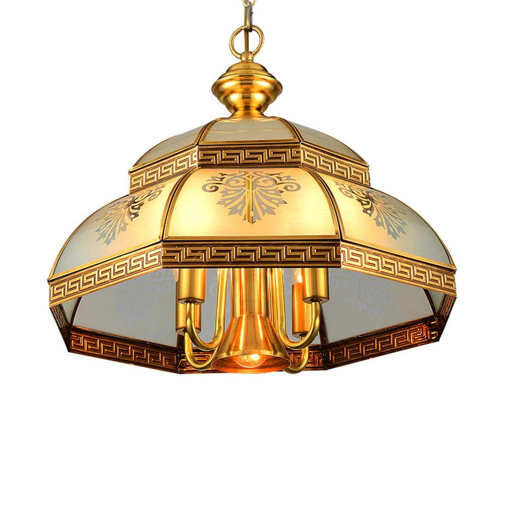 EME LIGHTING Modern Hanging Light (EOD-14108-450) Brass Chandelier image90