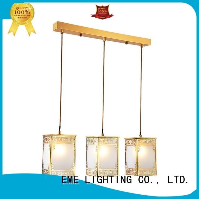 Wholesale hanging brass ceiling lights EME LIGHTING Brand