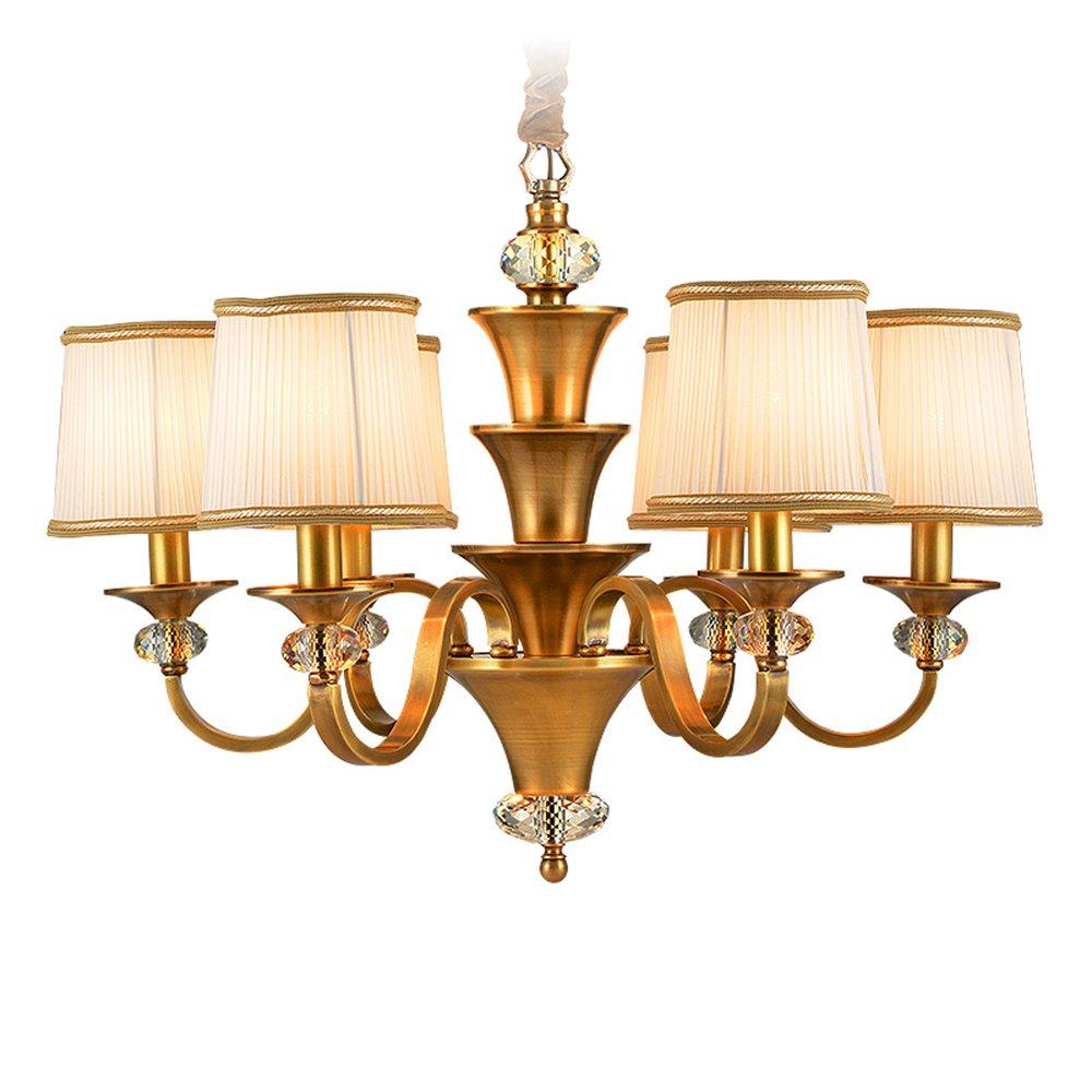 EME LIGHTING Dining Room Chandelier (EYD-14205-6) Brass Chandelier image87