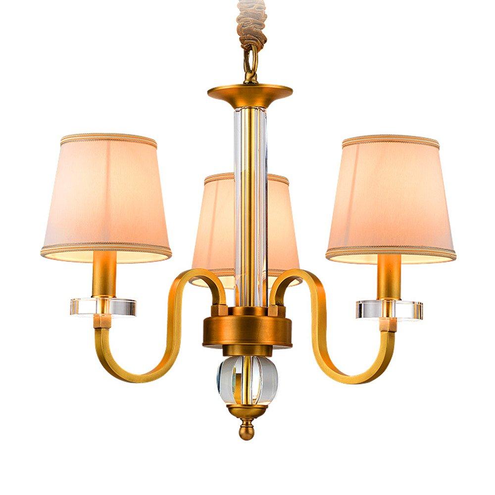 EME LIGHTING Restaurant Chandeliers (EYD-14207-3) Brass Chandelier image85