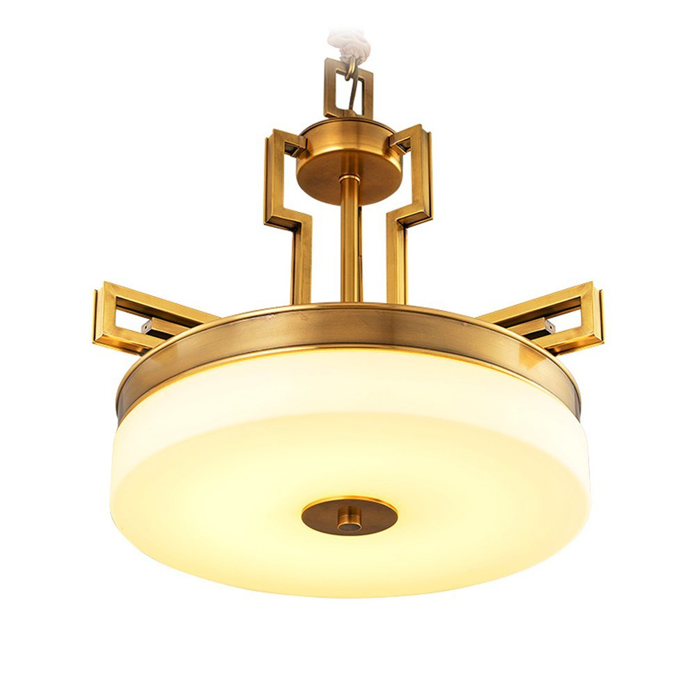 EME LIGHTING Round LED Pendant Light (EYD-14215-3D) Brass Chandelier image72