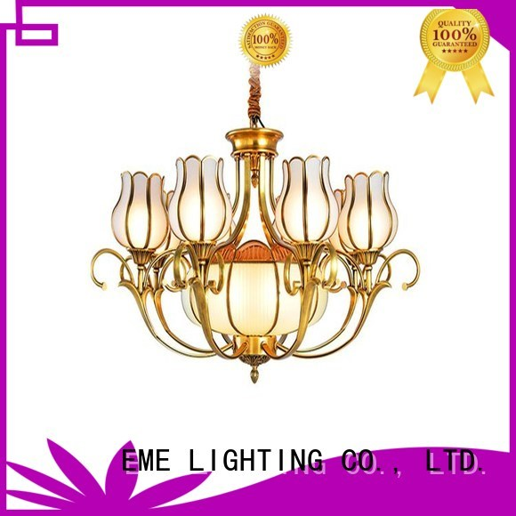 decorative chandeliers hanging light antique brass chandelier murano EME LIGHTING Brand