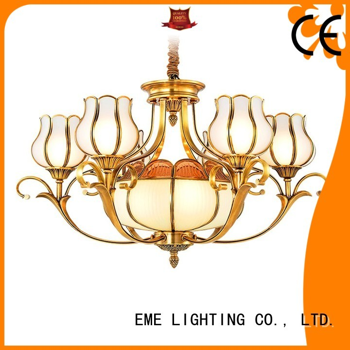 lobby luxury residential EME LIGHTING Brand decorative chandeliers manufacture