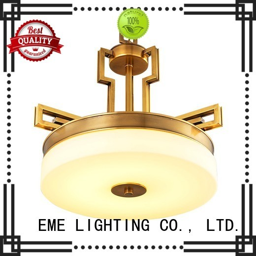 Wholesale dining room lights antique brass chandelier EME LIGHTING Brand