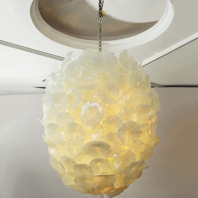 Pure White Hanging Pendant Light (MD336-pure white)