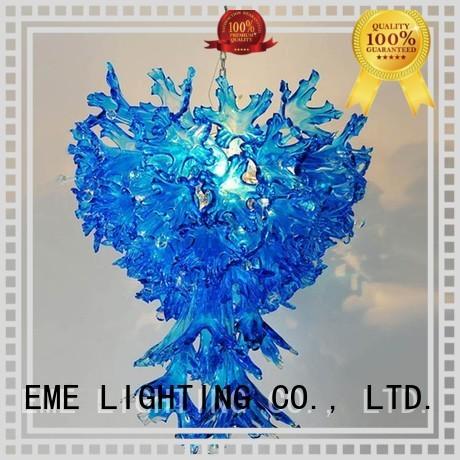 EME LIGHTING Brand wall copper and glass pendant light light factory