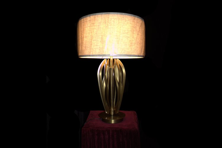 EME LIGHTING Modern Brass Table Lamp (D420*H680) Classic Series image48