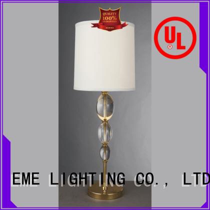 table study glass style chrome and glass table lamps EME LIGHTING Brand
