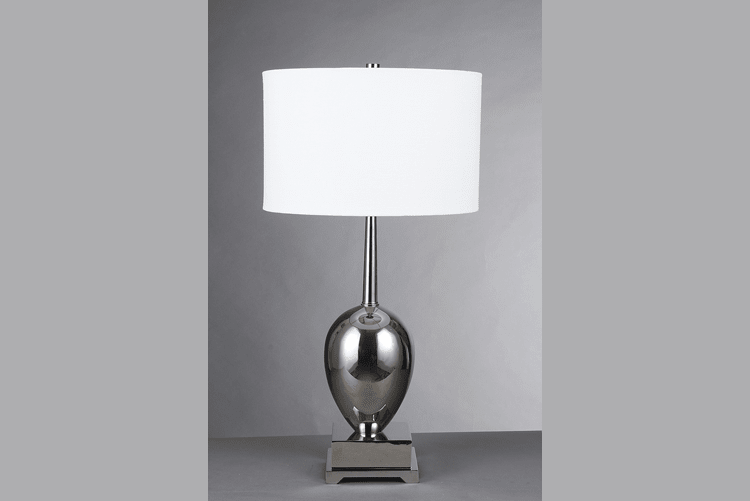 White Table Lamp (EMT-007)