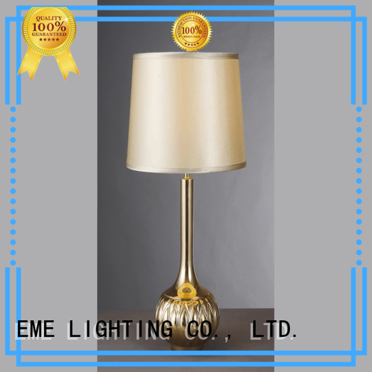 Wholesale gold chinese style table lamp bedroom EME LIGHTING Brand