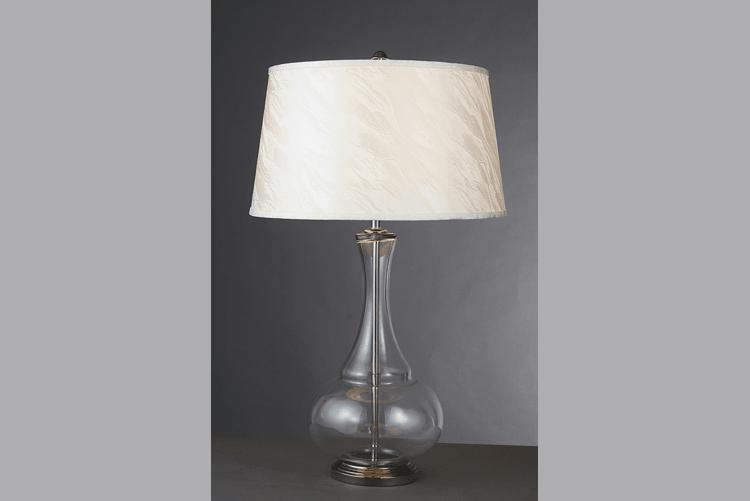 Restaurant Glass Table Lamp (EMT-018)