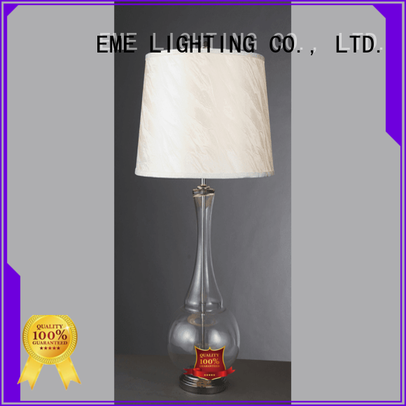 EME LIGHTING Brand colored bedside oriental table lamps manufacture