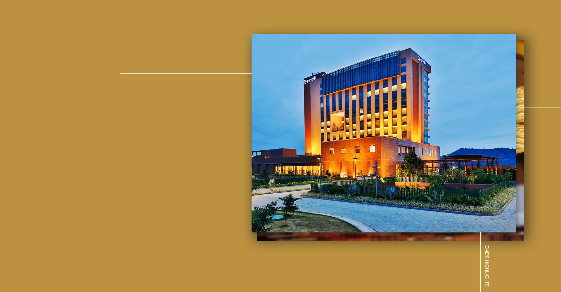 RADISSON BLU GUWAHATI HOTEL</br>INDIA