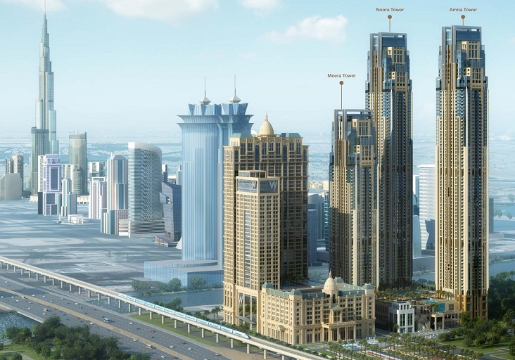 Penthouses of Al Habtoor City, Dubai